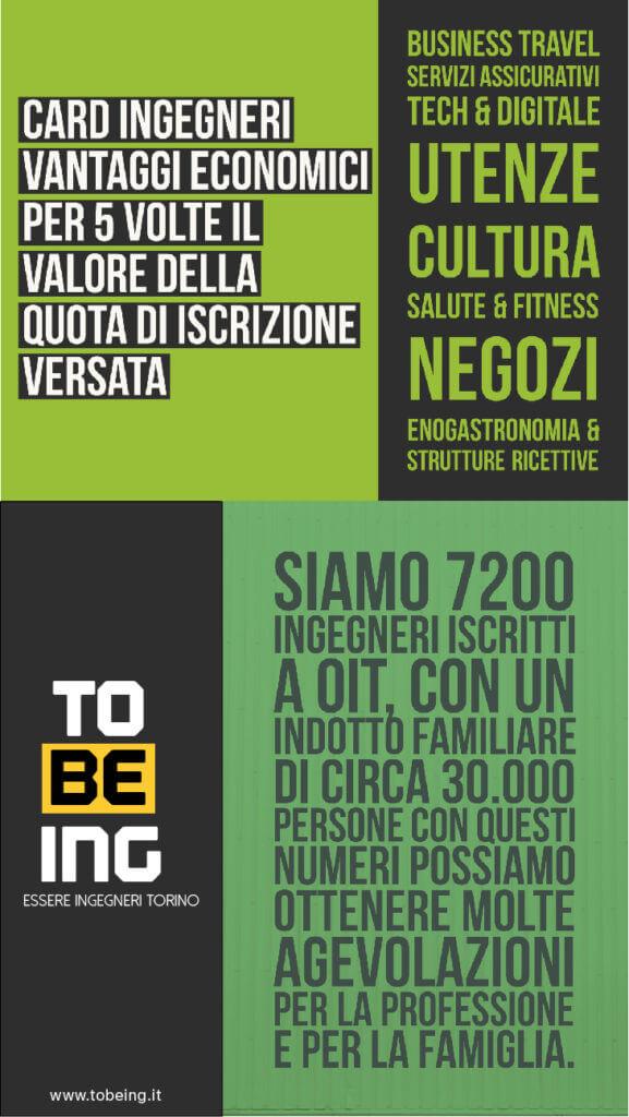 Elezioni Ordine Ingegneri Torino 2017 - TOBEING Card