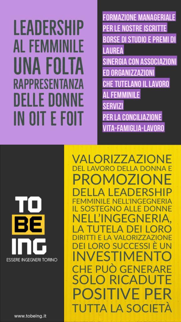 Elezioni Ordine Ingegneri Torino 2017 - TOBEING Leadership
