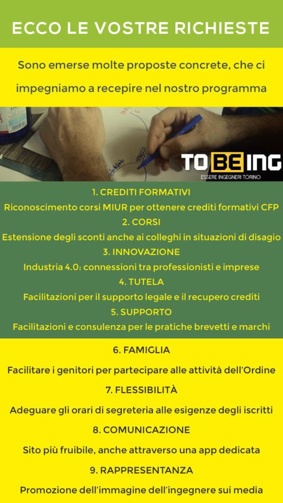 Elezioni Ordine Ingegneri Torino 2017 - tobeing worldcafe